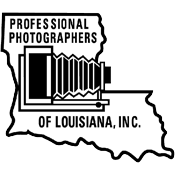 Professional Photographers of Louisiana Retina Logo