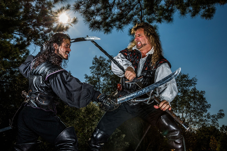 Renaissance Festival Sword Fighting